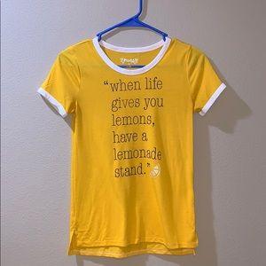 Mudd- yellow shirt